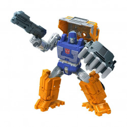 HUFFER TRANSFORMERS GENERATIONS WAR FOR CYBERTRON: KINGDOM DELUXE 2021 WAVE 2 FIGURINE 14CM