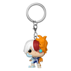 MY HERO ACADEMIA TODOROKI POCKET POP KEYCHAIN