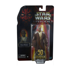 STAR WARS EPISODE I BLACK SERIES LUCASFILM 50TH ANNIVERSARY FIGURINE 2021 MACE WINDU