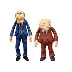 WALDORF & STATLER THE MUPPETS SELECT BEST OF SERIE 2 PACK 2 FIGURINE 13 CM