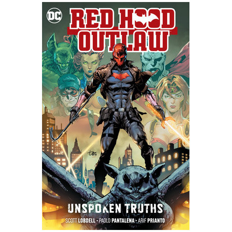 RED HOOD OUTLAW VOL.4 UNSPOKEN TRUTHS