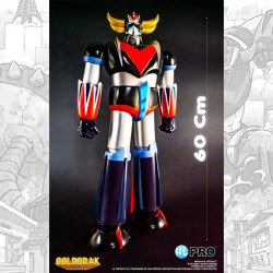 GOLDORAK CLASSIQUE VERSION ACTION FIGURE ROTO CAST 60 CM