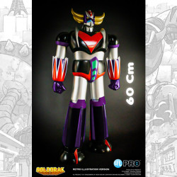 GOLDORAK RETRO ILLUSTRATION VERSION ACTION FIGURE ROTO CAST 60 CM