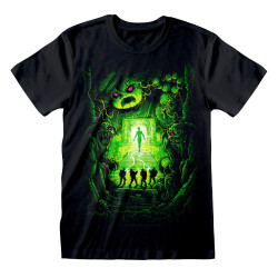 GHOSTBUSTERS DAN MUMFORD STAY PUFT POSTER T-SHIRT LARGE
