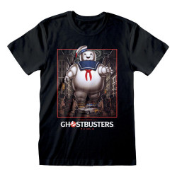 GHOSTBUSTERS MIKE MITCHELL STAY PUFT POSTER T-SHIRT LARGE
