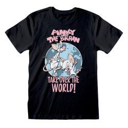 ANIMANIACS T-SHIRT TAKE OVER THE WORLD MEDIUM
