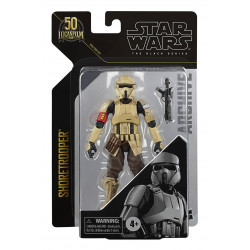 SHORETROOPER ROGUE ONE STAR WARS BLACK SERIES ARCHIVE 2021 50TH ANNIVERSARY WAVE 2 FIGURINE 15 CM