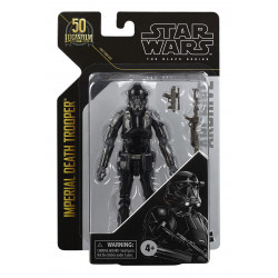 IMPERIAL DEATH TROOPER ROGUE ONE STAR WARS BLACK SERIES ARCHIVE 2021 50TH ANNIVERSARY WAVE 2 15 CM