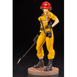 G.I. JOE BISHOUJO STATUETTE PVC 1/7 LADY JAYE CANARY ANN COLOR VERSION 23 CM