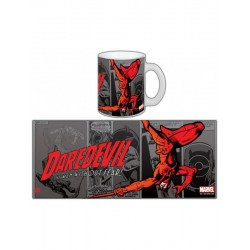 DAREDEVIL MARVEL COMICS RETRO SERIE 1 DE MUG VENDU EN BOITE ILLUSTREE
