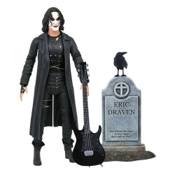 THE CROW FIGURINE DELUXE ERIC DRAVEN 18 CM