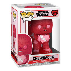 STAR WARS VALENTINES POP! STAR WARS VINYL FIGURINE CUPID CHEWBACCA