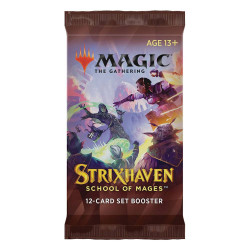 MAGIC THE GATHERING STRIXHAVEN: SCHOOL OF MAGES BOOSTER EXTENSION EN ANGLAIS