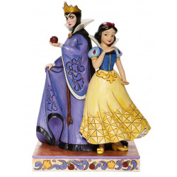 SNOW WHITE AND EVIL QUEEN EVIL AND INNOCENCE