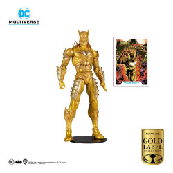 DC MULTIVERSE FIGURINE RED DEATH GOLD EARTH 52 GOLD LABEL SERIES