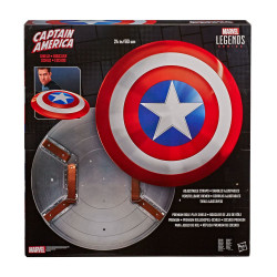 MARVEL LEGENDS BOUCLIER ROLE-PLAY PREMIUM CAPTAIN AMERICA 80TH ANNIVERSARY