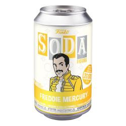 FREDDIE MERCURY QUEEN VINYL SODA FIGURINE 11 CM
