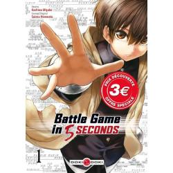 BATTLE GAME IN 5 SECONDS T01 PRIX DECOUVERTE
