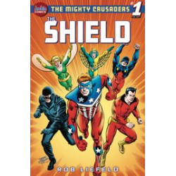 MIGHTY CRUSADERS ONE SHOT 1 THE SHIELD CVR E JERRY ORDWAY