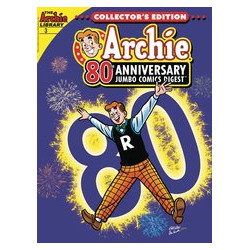 ARCHIE 80TH ANNIVERSARY JUMBO COMICS DIGEST 3