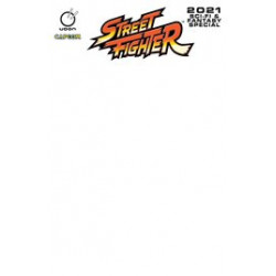 STREET FIGHTER 2021 SCIFI FANTASY SPECIAL 1 CVR C BLANK SKETCH