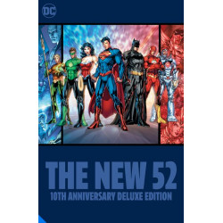 THE NEW 52 THE 10TH ANNIVERSARY DELUXE EDITION HC