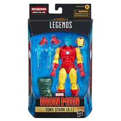 IRON MAN TONY STARK A.I MARVEL LEGENDS SHANG-CHI MOVIE ACTION FIGURE 15 CM