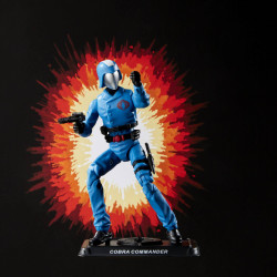 COBRA COMMANDER G.I. JOE RETRO COLLECTION SERIES 2021 WAVE 1 FIGURINE 10 CM