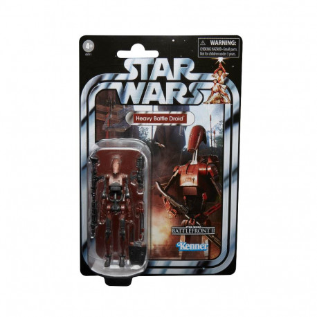 HEAVY BATTLE DROID STAR WARS VINTAGE GG COLL 3.75 ACTION FIGURE