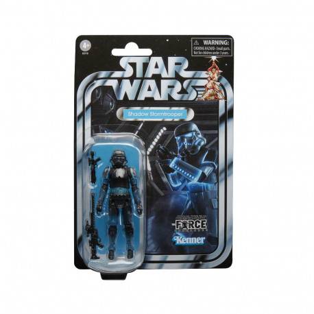 SHADOW STORMTROOPER STAR WARS VINTAGE GG COLL 3.75 ACTION FIGURE 10 CM