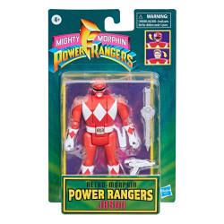 RED RANGER JASON MIGHTY MORPHIN POWER RANGERS RETRO COLLECTION SERIES 2021 WAVE 1 FIGURINE 10 CM