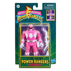 PINK RANGER KIMBERLY MIGHTY MORPHIN POWER RANGERS RETRO COLLECTION SERIES 2021 WAVE 1 FIGURINE 10 CM