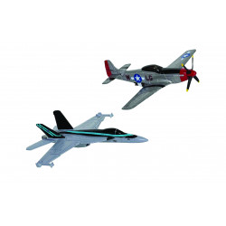 TOP GUN 2020 AIRCRAFT MAVERICK?S HORNET & MUSTANG 2 PACK CORGI