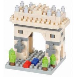 ARC DE TRIOPMHE NANOBLOCK BUILDING BLOCK SET