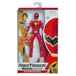 DINO THUNDER RED RANGER POWER RANGERS LIGHTNING COLL ACTION FIGURE 15 CM