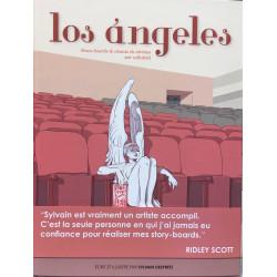 PACK DEDICACE SYLVAIN DEPRETZ : LOS ANGELES STORY-BOARDS & CHANTS DE SIRENES SUR CELLULOID + EXLIBRIS EXCLUSIF