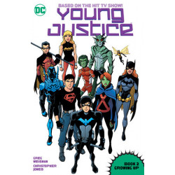 YOUNG JUSTICE BOOK 2 GROWING UP