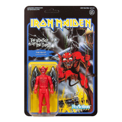 IRON MAIDEN FIGURINE REACTION THE NUMBER OF THE BEAST