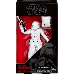 FIRST ORDER SNOWTROOPER STAR WARS BLACK SERIES THE FORCE AWAKENS 6INCH ACTION FIGURE