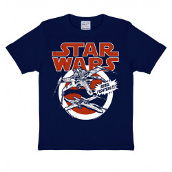 X-WINGS STAR WARS TSHIRT ENFANT TAILLE 2-3 ANS
