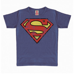 SUPERMAN LOGO DC COMICS TSHIRT ENFANT 4-6 ANS