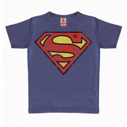 SUPERMAN LOGO DC COMICS TSHIRT ENFANT 7-9 ANS
