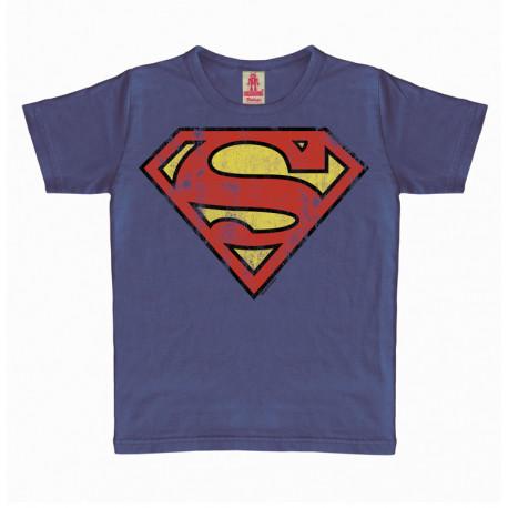 SUPERMAN LOGO DC COMICS TSHIRT ENFANT 10-12 ANS