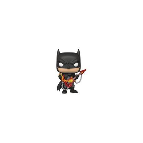 DARK KNIGHTS METAL BATMAN W/GUITAR POP DC HEROES PX VIN 9 CM