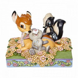 BAMBI AND FRIENDS STATUE DISNEY TRADITIONS ENV. 10 CM
