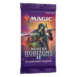 MAGIC THE GATHERING MODERN HORIZONS DRAFT BOOSTERS VERSION ANGLAISE