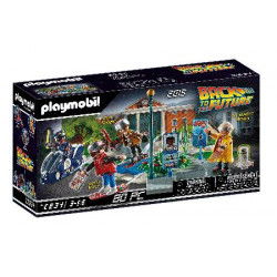 BACK TO THE FUTURE PART II HOVERBOARD CHASE PLAYMOBIL PLAYSET