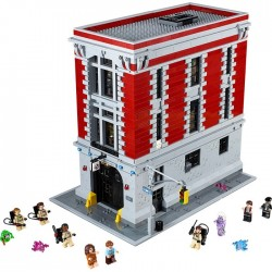 FIREHOUSE HEADQUARTERS GHOSTBUSTERS LEGO BOX
