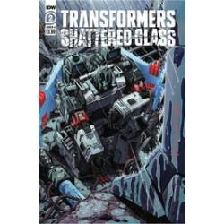 TRANSFORMERS SHATTERED GLASS 2 CVR A MILNE