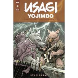 USAGI YOJIMBO DRAGON BELLOW CONSPIRACY 4